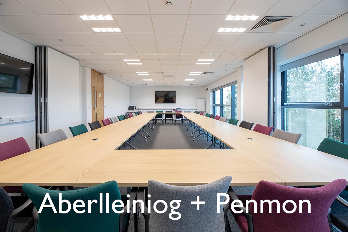 Aberlleiniog + Penmon (Arddull Theatr)